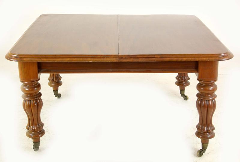 Antique Walnut Table Dining Scotland 1870 Furniture B1156