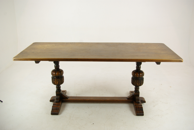 Antique Refectory Table Dining