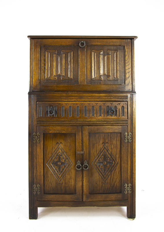 Drinks Cabinet Antique Dry Bar
