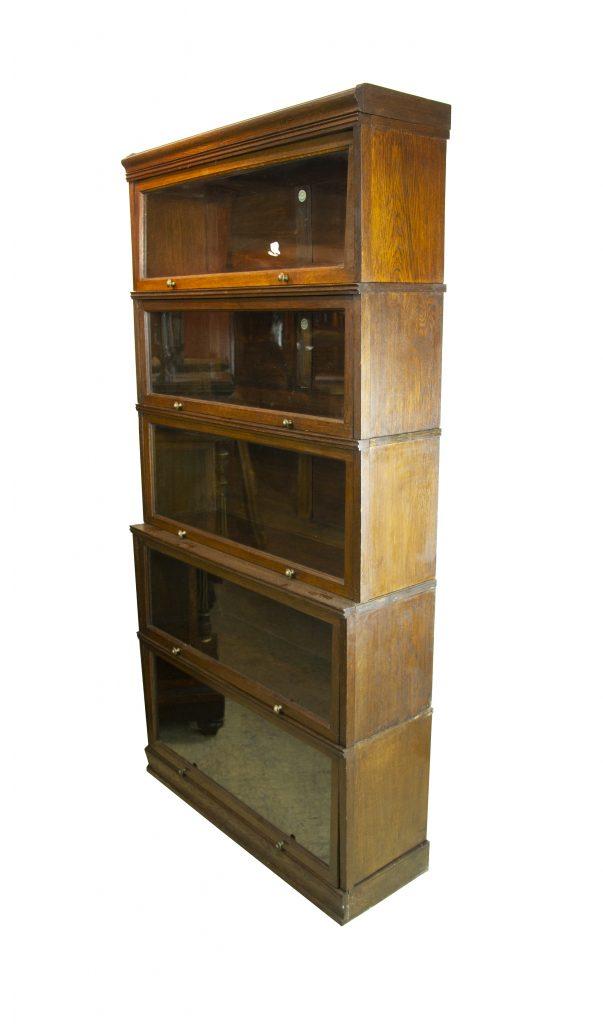 Lawyers Bookcase Barristers Bookcase Oak Scotland 1920